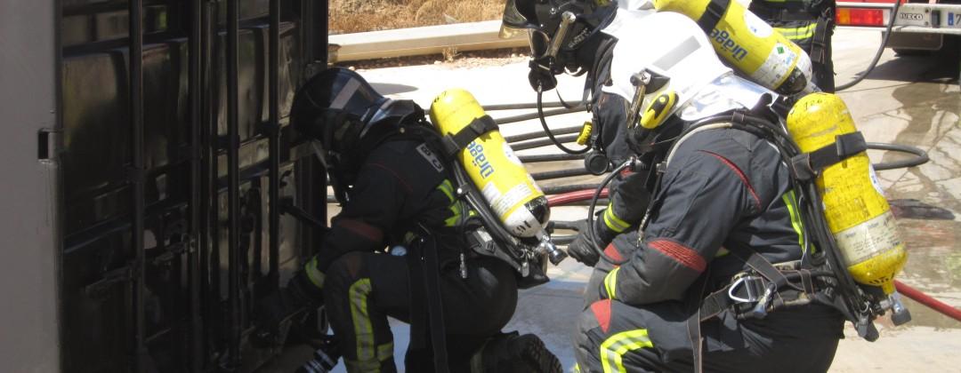 simulador espacios confinados formación contra incendios
